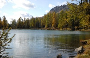 Al Passo San Pellegrino…il lago
