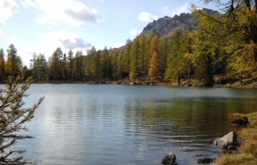 Moena - Al Passo San Pellegrino...il lago