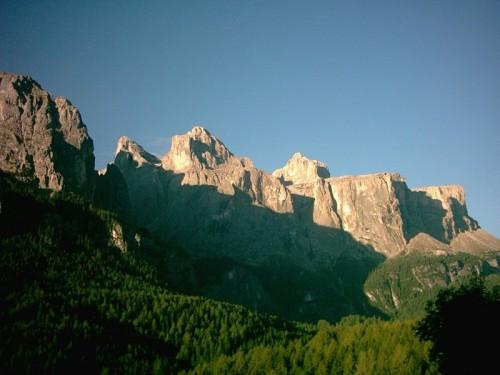 Corvara in Badia - Il Gruppo del Sella...da Corvara