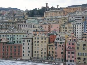 le palazzate di Genova