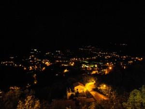 La Perla del Tirreno in notturna
