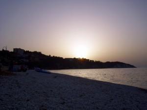 Spiaggia di Le Ghiaie nel comune di Portoferraio