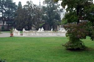 La fontana di Galatea a Villa Litta