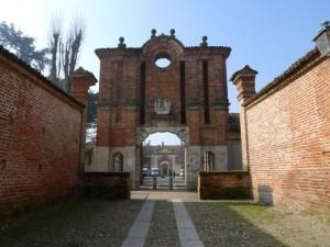 La porta del castello di Gambolò