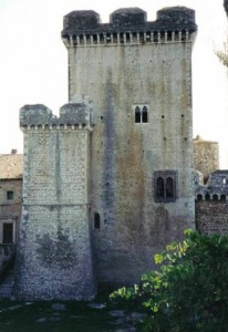 Torri del Castello di Sermoneta.