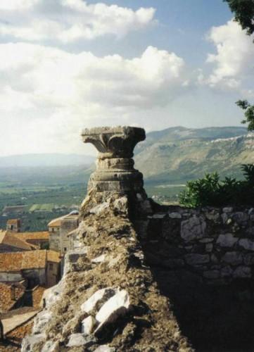 Sermoneta - Panorama dalle mura.