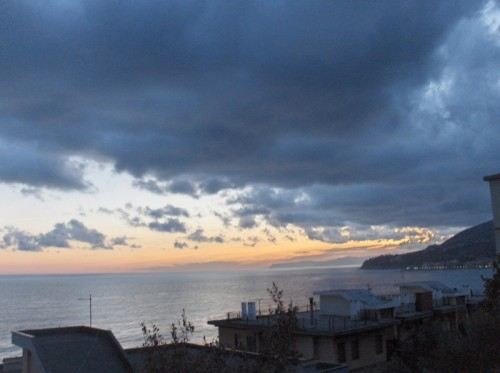 Cogoleto - tramonto su cogoleto