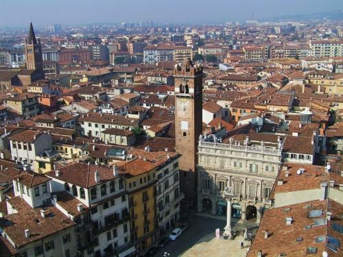 Verona - Vista dalla Torre dei Lamberti