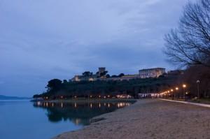 Rocca Leone night