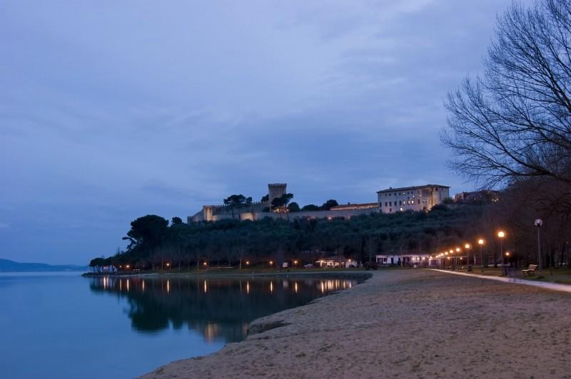 ''Rocca Leone night'' - Castiglione del Lago