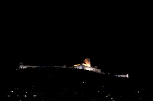Assisi - Rocca Maggiore da S.M.degli Angeli