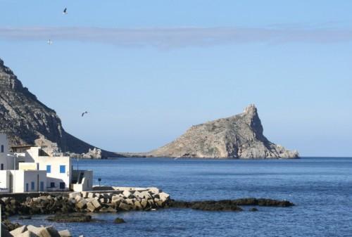 Favignana - Marettimo case e Punta Troia