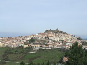 panorama di Osilo