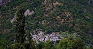 Panorama di Buglio in Monte