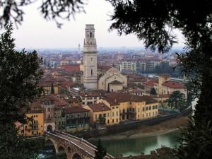 Verona in cornice