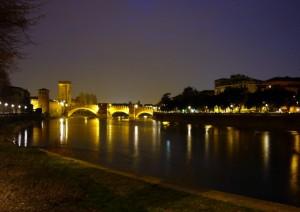 Notturno sull' Adige