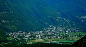 Panorama di Ardenno in Valtellina