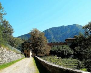 Castello Ceconi, entrata