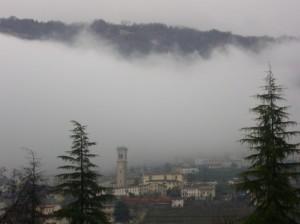 ..nebbia a valdobbiadene
