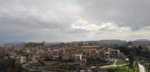 Mazzarino, Vista dal castello!