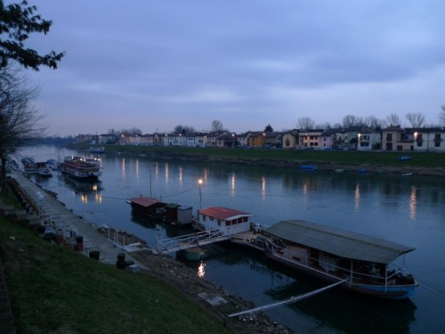 Pavia - Barche sul Ticino