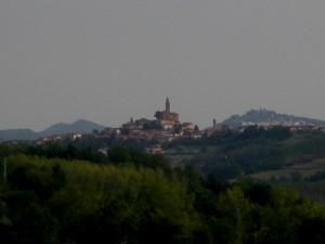 panorama di Villa San Secondo