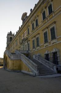 Reggia di Colorno, scalinata.