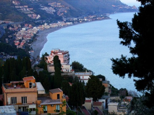 Taormina - Tutti al mare!