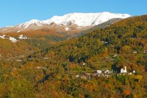 autunno 2009, val dei Mocheni, paesino di Frassilongo