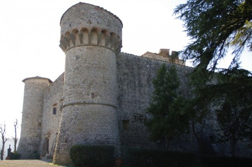 Gaiole in Chianti - castello di meleto