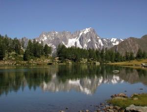Mattinata al lago d'Arpy