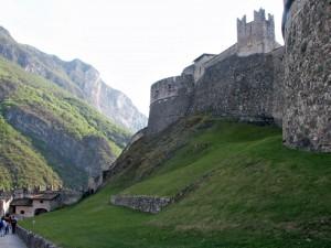 La più grande struttura fortificata del Trentino-Alto Adige; Castel Beseno
