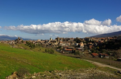 Randazzo - Panorama di Randazzo