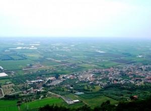 Panorama di Sezze Scalo