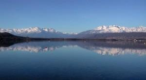 Le montagne intorno al lago di Viverone