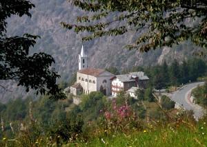Santuario nei pressi di Emarese