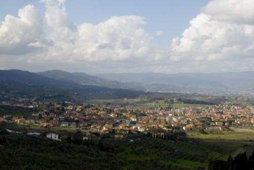 Quarrata - Quarrata vista da Tizzana