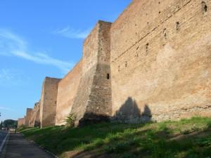 Le mura Aureliane presso porta S.Sebastiano