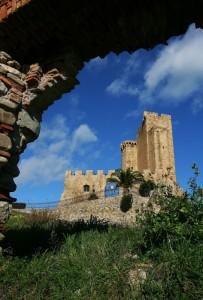 dalla breccia….il castello