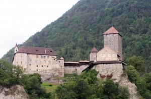 Veduta di castel Tirolo