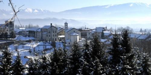 San Gregorio nelle Alpi - Panorami invernali ( Paderno di san Gregorio nelle Alpi) 2