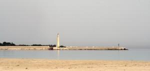La spiaggia e il faro di San Vito lo capo