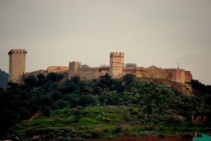 In vista del castello…