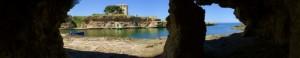caletta di Torre Incina vista dalle grotte