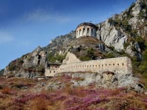 fossato nord Rocca di Anfo