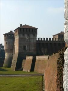 Il Castello visto da Porta San Giuseppe