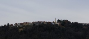 Panorama di Primeglio, frazione di Passerano Marmorito