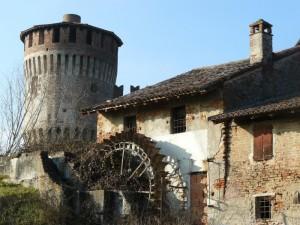Castello antico e antico mulino