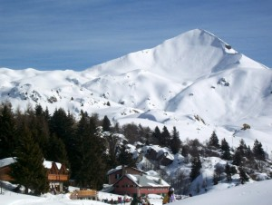 Rifugio Sassi Castelli e monte Sodadura