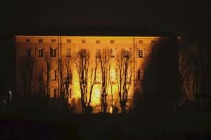 Notturno - Vista sul Castello di Piea